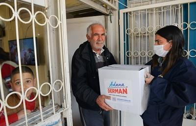 Adana Büyükşehir Belediyesi Yardım