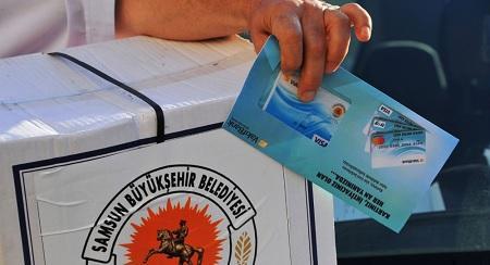 Samsun Büyükşehir Belediyesi Yardım Başvurusu ve Sorgulama