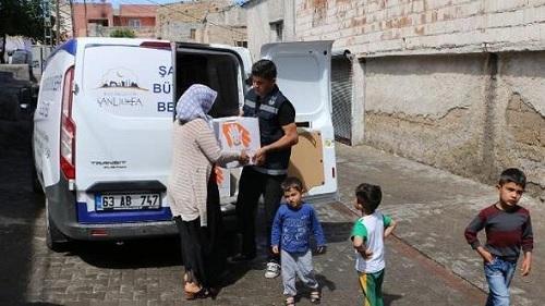 Şanlıurfa Büyükşehir Belediyesi Yardım Başvurusu ve Sorgulama