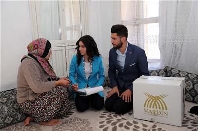 Mardin Büyükşehir Belediyesi Yardım Başvurusu ve Sorgulama