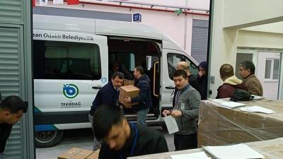 Tekirdağ Büyükşehir Belediyesi Yardım Başvurusu ve Sorgulama