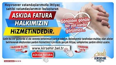Kırşehir Belediyesi Yardım Başvurusu ve Sorgulama